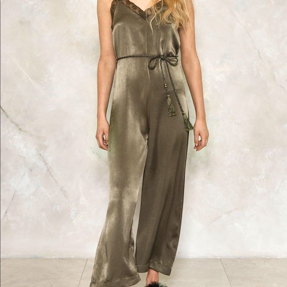 great deals 2017 quality and quantity assured how to get Elli White Silk Jumpsuit (Never Been Worn)